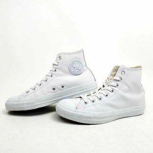 Converse Chuck Taylor HI Mens 8 Sneakers White